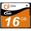 Карта памяти Team 16GB Compact Flash 233x (TCF16G23301)